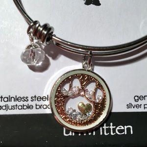 Unwritten Disney Minnie Tri-Tone Shaker Bracelet